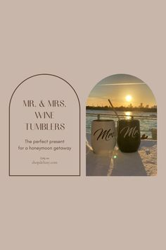 Our his and hers tumblers make an ideal present for weddings, Valentines Day Gift, bridal showers gifts for bride, Christmas gifts for couples, engagements and anniversary. This complete bundle comes in an elegant packaging. No gift wrap needed!