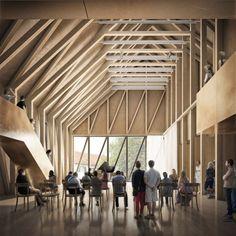 Greifensee Cultural Centre   Jonathan Tuckey Design