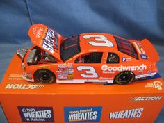Action Collectibles 1:24 Scale Die-Cast Dale Earnhardt #3 Wheaties '97 Monte Carlo Bank/Car