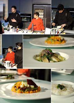 Apresentação do chef Luca Collami do restaurante Baldin [2012]