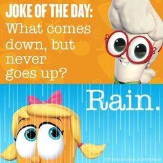 Funny Dog Jokes, Funny Riddles, Cute Jokes, Jokes And Riddles, Mom Jokes, Funny Jokes For Kids, Corny Jokes, Hilarious, Kid Friendly Jokes