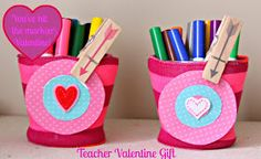 Our Pinteresting Family: Teacher Valentine Gift Idea