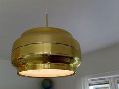Funky gull taklampe - FINN Torget
