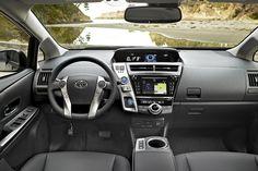 Toyota Prius V 2015 vs Ford C-MAX 2015 - Interior image