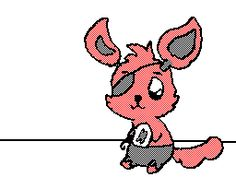 Five Nights at Freddy's Foxy loves you GIF