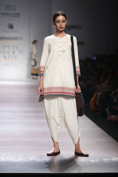 Dhoti Pants and Peplum Top Idea :- Wanderlust Fashion Indian Fashion Trends, Indian Designer Outfits, Ethnic Fashion, India Fashion Week, Lakme Fashion Week, Pakistan Fashion Week, Salwar Designs, Designer Kurtis, Casual Summer Outfits