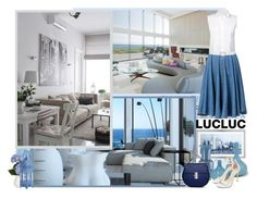 """""""Lucluc.com"""" by asia-12 ❤ liked on Polyvore featuring moda, Dot & Bo, Venini, T By Alexander Wang, M&Co y Pier 1 Imports"""