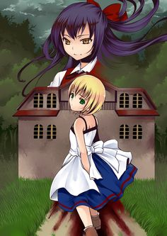 /Majo no Ie/#1406753 - Zerochan   The Witch's House / 魔女の家実況プレイ終わりました(´∀`) [1]