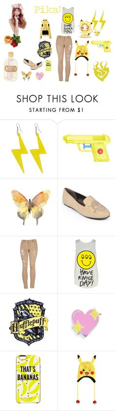 """""""You Teach me, & I'll teach you."""" by surreal-starr ❤ liked on Polyvore featuring Journee Collection, 2LUV, Have a Nice Day, Big Bud Press, Kate Spade, Nintendo and GetTheLook"""