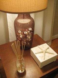 Make a scented diffuser with stuff you already have (skewers, soap, and a vase).