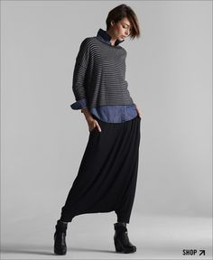 EILEEN FISHER's Looks We Love. How to Wear the Fall Trends.