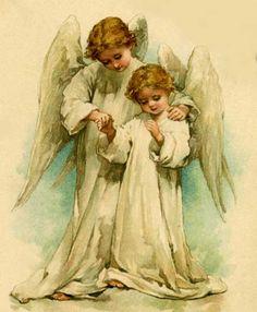 Anjos Divinos | Imagens para Decoupage