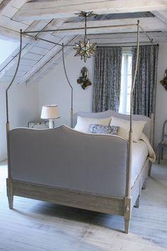RL Goins' Paris Bed - interior by Carolyn Malone, Architecture Bill Litchfield.