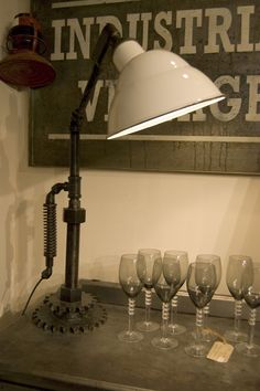 The Old Cinema: Upcycled Industrial Lighting