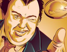 """Check out new work on my @Behance portfolio: """"""""Uncle Buck"""" John Candy Tribute Poster"""" http://be.net/gallery/64456681/Uncle-Buck-John-Candy-Tribute-Poster"""