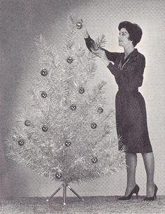 Decorating Your Aluminum Tree