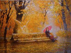 Victor Nizovtsev ~ 1965 Fantasy Paintings, Fantasy Art, Victor Nizovtsev, Magic Realism, Oil Painters, Angel Art, Fantasy Landscape, Sacred Art, Traditional Art
