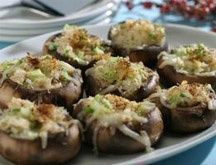 PHASE 1-3  South Beach Diet Recipes - Crab Stuffed Mushrooms