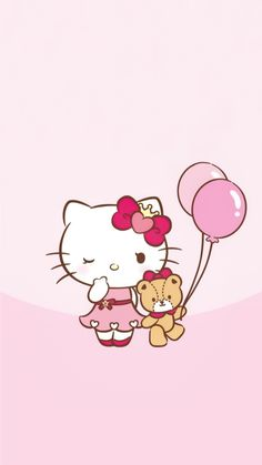 Hello Kitty Backgrounds, Hello Kitty Wallpaper, Kawaii Wallpaper, Sanrio Characters, Wall Papers, Beer, Friends, Pretty, Anime