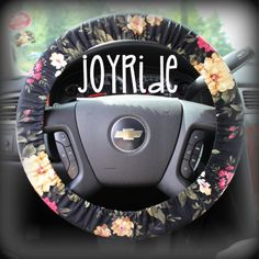 Add some personality to your car or truck. Every Auto needs a great accessory and this is it. LOVE the designer look of a fabulous steering wheel