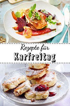 Leichte Gerichte mit Fisch und vegetarische Köstlichkeiten #ostern #rezept