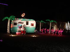 christmas decoration trailer style christmas florida tropical christmas coastal christmas camping trailers
