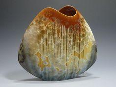 slab vases ceramics -Ginny Conrow