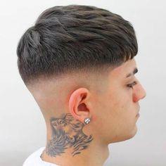 Crop Haircut, Fade Haircut, Mens Hair Colour, Hair Color, Hair And Beard Styles, Short Hair Styles, Gents Hair Style, Faded Hair, Hair Shows