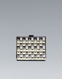 STUDDED SMALL BOX BAG - Handbags - Woman - ZARA United Kingdom