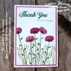 Handmade card made using the Daisy Delight stamp set