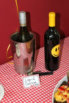 liquid courage, wizard of oz party ideas,- haha- for adults!!