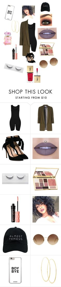 """iSlay"" by mcmxcv-collection on Polyvore featuring Alice & You, Gianvito Rossi, Jeffree Star, Chanel, tarte, Benefit, Nasaseasons, Victoria Beckham, Lana and Yves Saint Laurent"