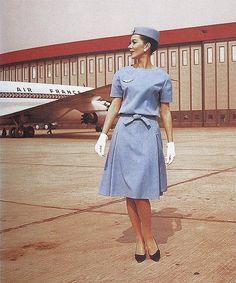 Air France, 1963 by Christian Dior