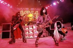 """July 25, 1979, Madison Square Garden. It was billed as """"The Return of KISS,"""" presumably because they hadn't released a studio album in 2 years other than the 4th side of Alive 2 and their solo albums had come out the year before.  It was the first concert I ever saw. It was quite an event.  It was at the height of their popularity even though some fans were beginning to have their doubts as it was in support of a pretty floppy record, Dynasty.  It was also the height of the KISS sucks! back…"""