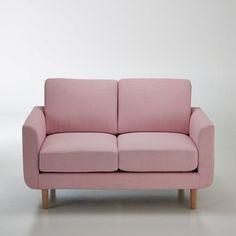 Canapé 2 places Jimi La Redoute Interieurs : prix, avis & notation, livraison.  Le canapé 2 places Jimi. Coloris pastels et accueil très moelleux, ce canapé s'associera parfaitement à un salon d'inspiration nordique avec des meubles aux tons clairs pour un intérieur doux et cosy.Dimensions canapé 2 places Jimi :Longueur : 130 cmHauteur : 80 cmProfondeur : 79 cmAssise : L106 x H45,5 x P53,5 cmCaractéristiques canapé 2 places Jimi :Revêt...