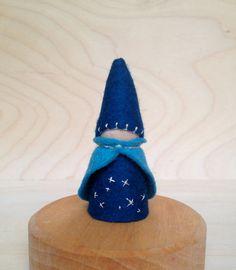 Birthday Ring Peg Gnome  Stars   Waldorf and by SepAndAugust, €5.93