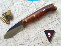 Green river ironwood by Turley Knives - beautiful knife, gorgeous handle material!