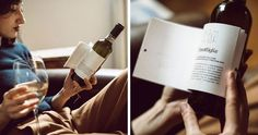 A good read and a bottle of wine go together like movies and popcorn. That's why Italian winery Matteo Correggia and design agency Reverse Innovation has created Librottiglia (a smart combination of the Italian words for book and bottle), a range of wines intertwined with literature.
