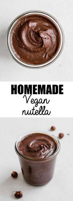 This homemade vegan nutella is a healthy recipe that is super creamy! This homemade vegan nutella is a healthy recipe that is super creamy! This homemade vegan nutella is a healthy recipe that is super creamy! Whole Food Recipes, Dessert Recipes, Dinner Recipes, Quick Recipes, Cocktail Recipes, Desserts Homemade, Dinner Ideas, Homemade Food, Hazelnut Recipes