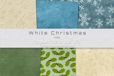 White Christmas on Craftsuprint #cardmaking #scrapbooking #papercrafts #ccc