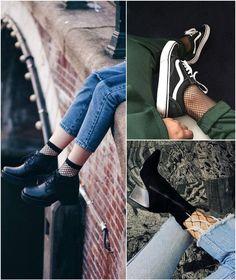 2017 Trendi: File Çorap Nasıl Giyilir? | 2017 Trends: How to Wear Fishnets?