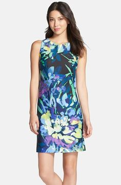 Vince Camuto Print Sheath Dress available at #Nordstrom