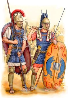 Angel Garcia Pinto. Legionaries on the Punic Wars.