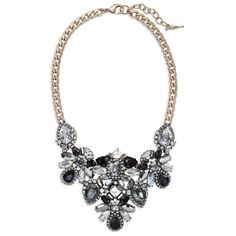 How fabulous is the Midnight Palace Statement Necklace? $148 but purchase before 12/15/15 and use code FFHOL15 for 25% off!  Visit chloeandisabel.com/boutique/morgandyer to purchase!
