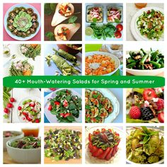 40+ Mouth-Watering Spring and Summer Salads!