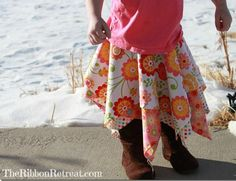 Square Skirt Tutorial, Looks pretty easy.