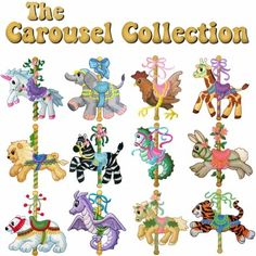 Carousel Collection - Machine Embroidery Designs