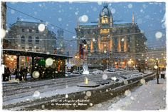 Milano e la neve!