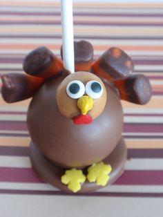 turkey cake pop