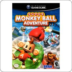 Game Cube Super Monkey Ball Adventure R$49.90